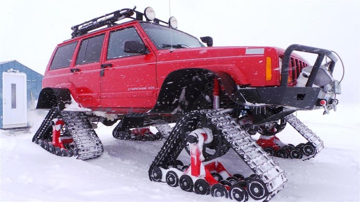 Snow Tracks For Trucks >> Dominator Track Systems Yankee Metal Works